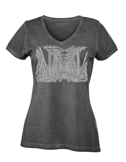 "Ladies´ Gipsy V-Neck ""Hubbrücke"""