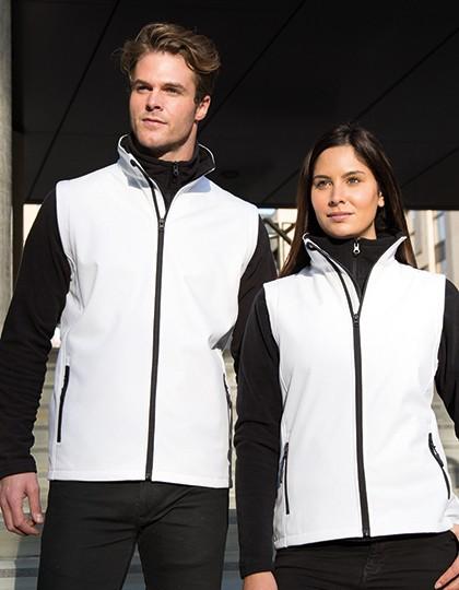 Ladies` Printable Soft Shell Bodywarmer Design