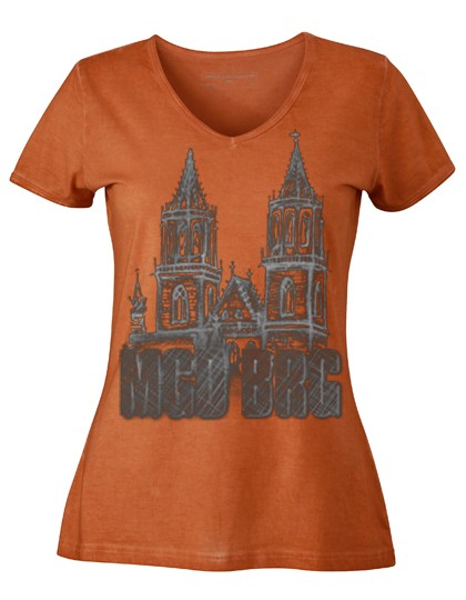 "Ladies´ Gipsy V-Neck ""Dom MGBRG"""