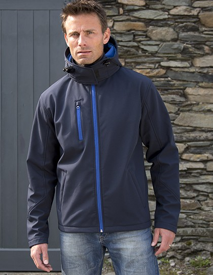 Men`s TX Performance Hooded Soft Jacket Design
