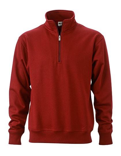 Workwear Half Zip Sweat Design