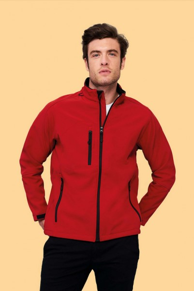 Men`s Softshell Jacket Relax Design