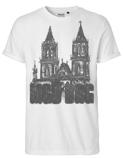 "Men`s Roll Up Sleeve T-Shirt ""Dom MGBRG"""